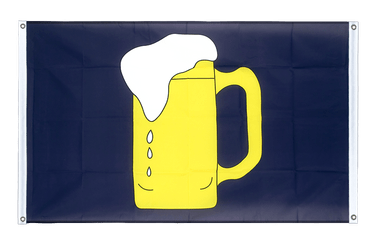 Beer - Banner Flag 3x5 ft, landscape