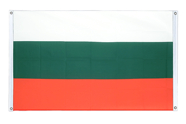 Bulgaria Banner Flag 3x5 ft, landscape