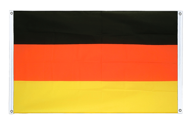 Germany Banner Flag 3x5 ft, landscape