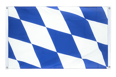 Bavaria without crest Banner Flag 3x5 ft, landscape