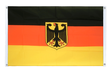 Germany Dienstflagge - Banner Flag 3x5 ft, landscape