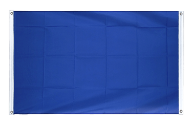 Blue Banner Flag 3x5 ft, landscape