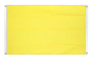 Yellow Banner Flag 3x5 ft, landscape