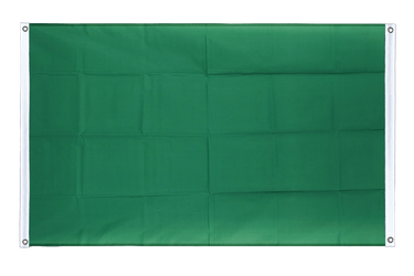 Green Banner Flag 3x5 ft, landscape