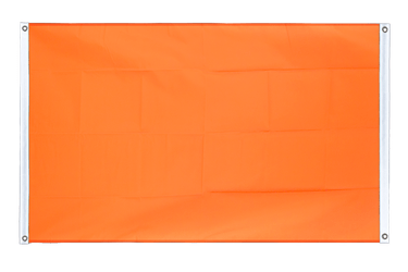 Orange Banner Flag 3x5 ft, landscape