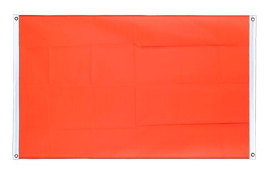 Red Banner Flag 3x5 ft, landscape