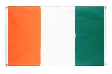 Ivory Coast Banner Flag 3x5 ft, landscape