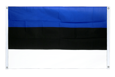 Estonia Banner Flag 3x5 ft, landscape