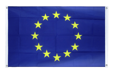 European Union EU Banner Flag 3x5 ft, landscape