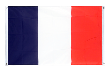 France Banner Flag 3x5 ft, landscape