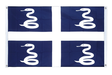 Martinique Banner Flag 3x5 ft, landscape