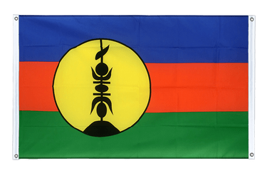 New Caledonia - Banner Flag 3x5 ft, landscape