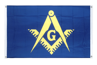 Freemason Banner Flag 3x5 ft, landscape