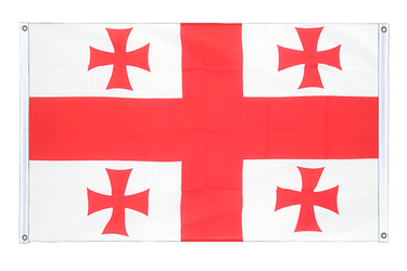 Georgia - Banner Flag 3x5 ft, landscape