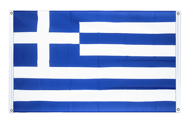 Greece Banner Flag 3x5 ft, landscape