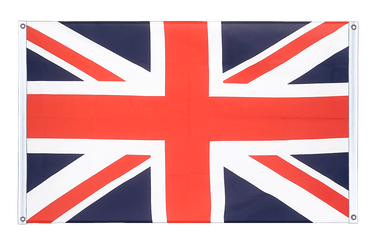 Great Britain Banner Flag 3x5 ft, landscape
