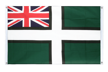 Devon ensign Banner Flag 3x5 ft, landscape