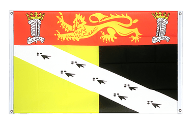 Norfolk Banner Flag 3x5 ft, landscape