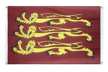 Richard Lionheart - Banner Flag 3x5 ft, landscape