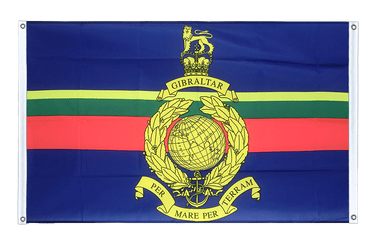 Royal Marines - Banner Flag 3x5 ft, landscape