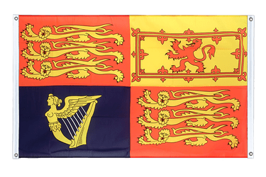 Great Britain Royal Banner Flag 3x5 ft, landscape