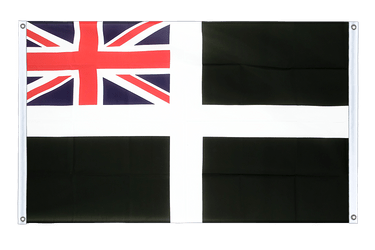 St. Piran Cornwall Ensign - Banner Flag 3x5 ft, landscape