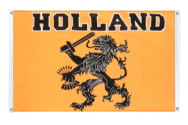 Holland Oranje Banner Flag 3x5 ft, landscape