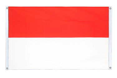 Indonesia Banner Flag 3x5 ft, landscape