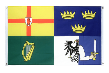 Ireland 4 provinces Banner Flag 3x5 ft, landscape