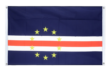 Cape Verde Banner Flag 3x5 ft, landscape