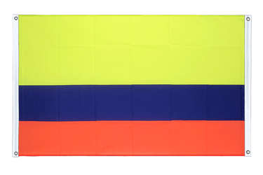 Colombia - Banner Flag 3x5 ft, landscape