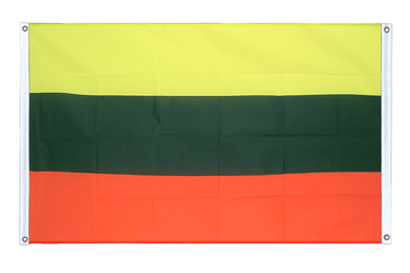 Lithuania Banner Flag 3x5 ft, landscape