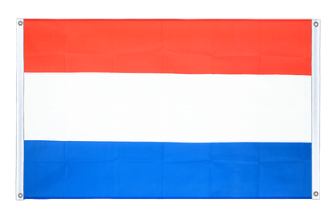 Luxembourg Banner Flag 3x5 ft, landscape