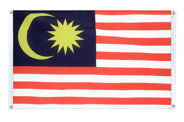 Malaysia  Banner 3x5 ft, landscape