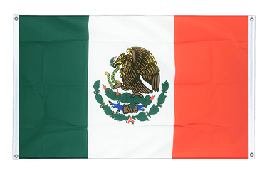 Mexico - Banner Flag 3x5 ft, landscape