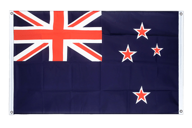 New Zealand Banner Flag 3x5 ft, landscape