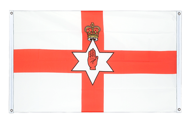 Northern Ireland Banner Flag 3x5 ft, landscape