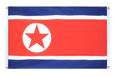 North corea Banner Flag 3x5 ft, landscape