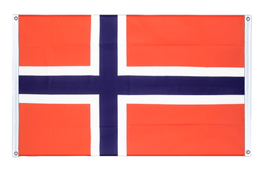 Norway Banner Flag 3x5 ft, landscape