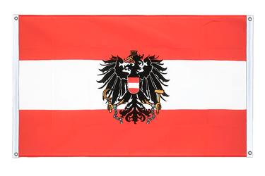 Austria eagle Banner Flag 3x5 ft, landscape