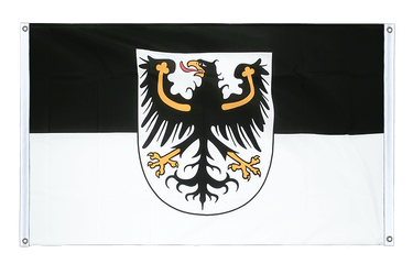 East Prussia Banner Flag 3x5 ft, landscape