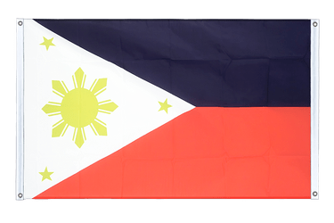 Philippines Banner Flag 3x5 ft, landscape