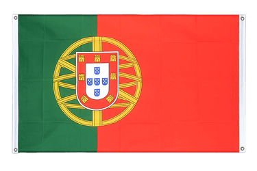 Portugal Banner Flag 3x5 ft, landscape