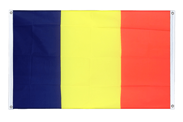 Rumania Banner Flag 3x5 ft, landscape