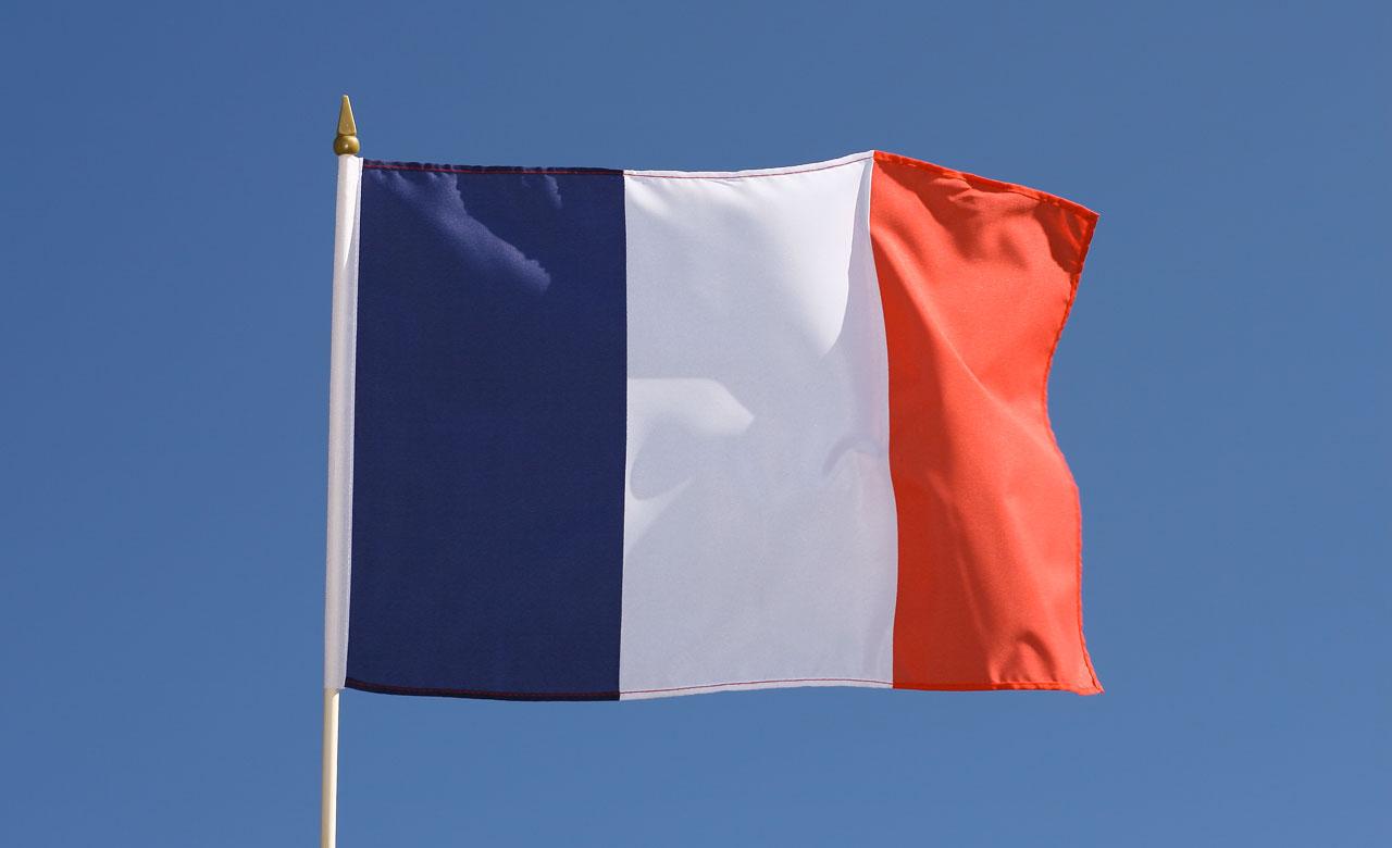 Französische Fahne Bild