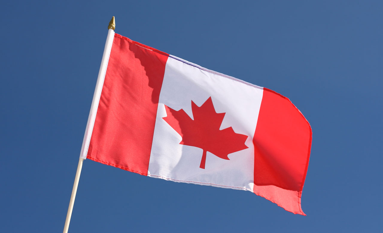 "Canada Hand Waving Flag - 12x18"" - Royal-Flags"