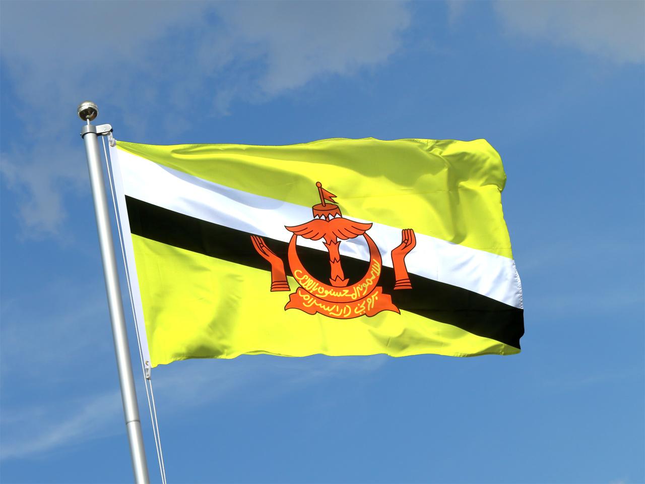 Brunei Darussalam Flag Hd