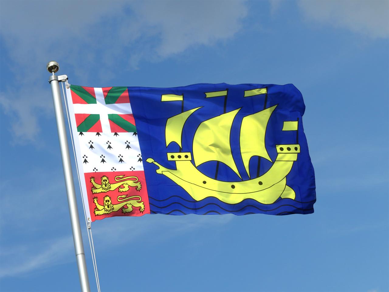 Buy Saint Pierre and Miquelon Flag - 3x5 ft - Royal-Flags