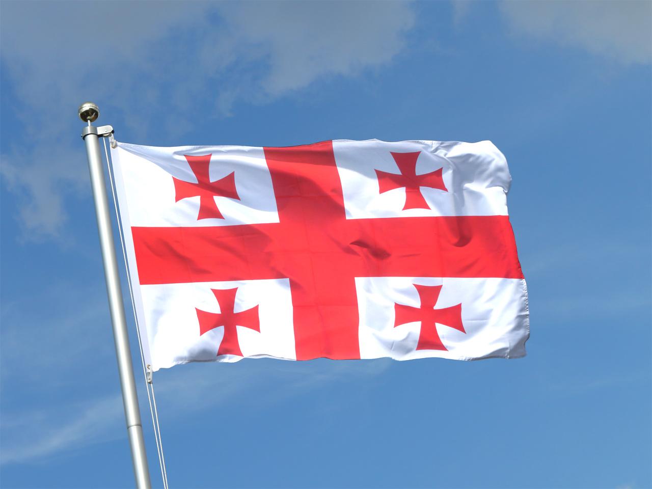 Fahne Georgien
