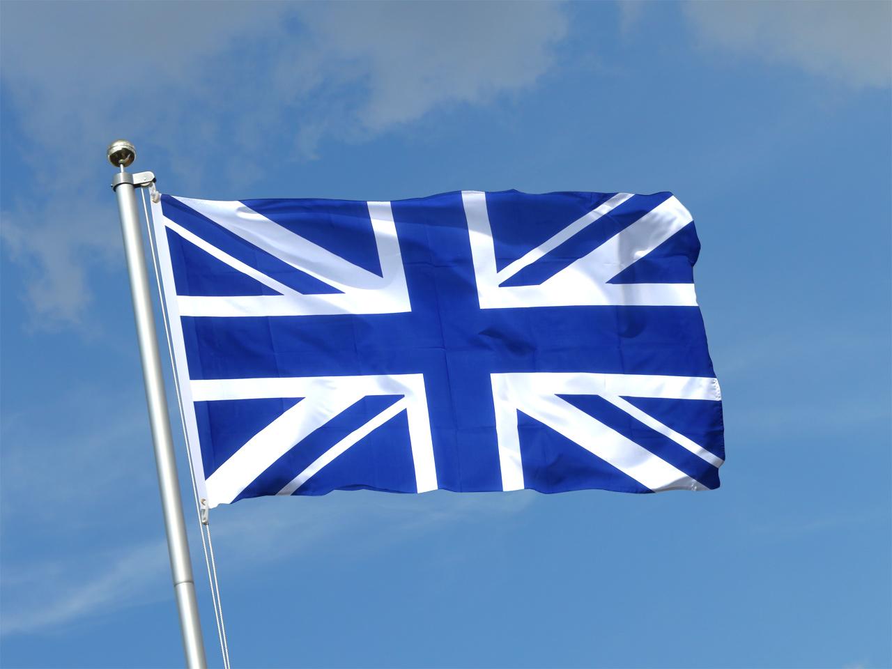 Flag union jack blue 3x5 ft 90x150 cm royal flags for Decoration murale union jack